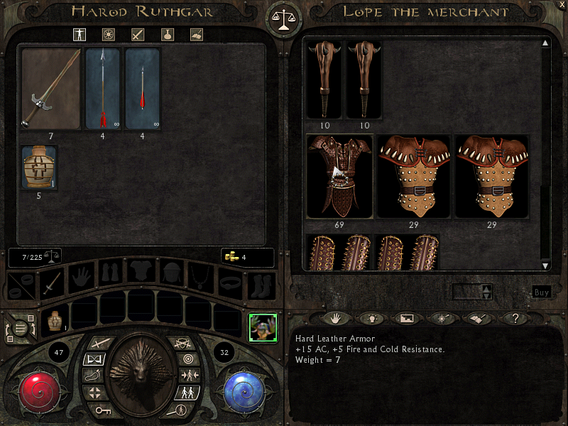 Lionheart: Legacy of the Crusader Windows Trading with merchant