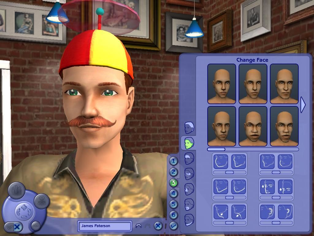 The Sims 2 Windows You can alter just about any aspect of your Sims appearance.