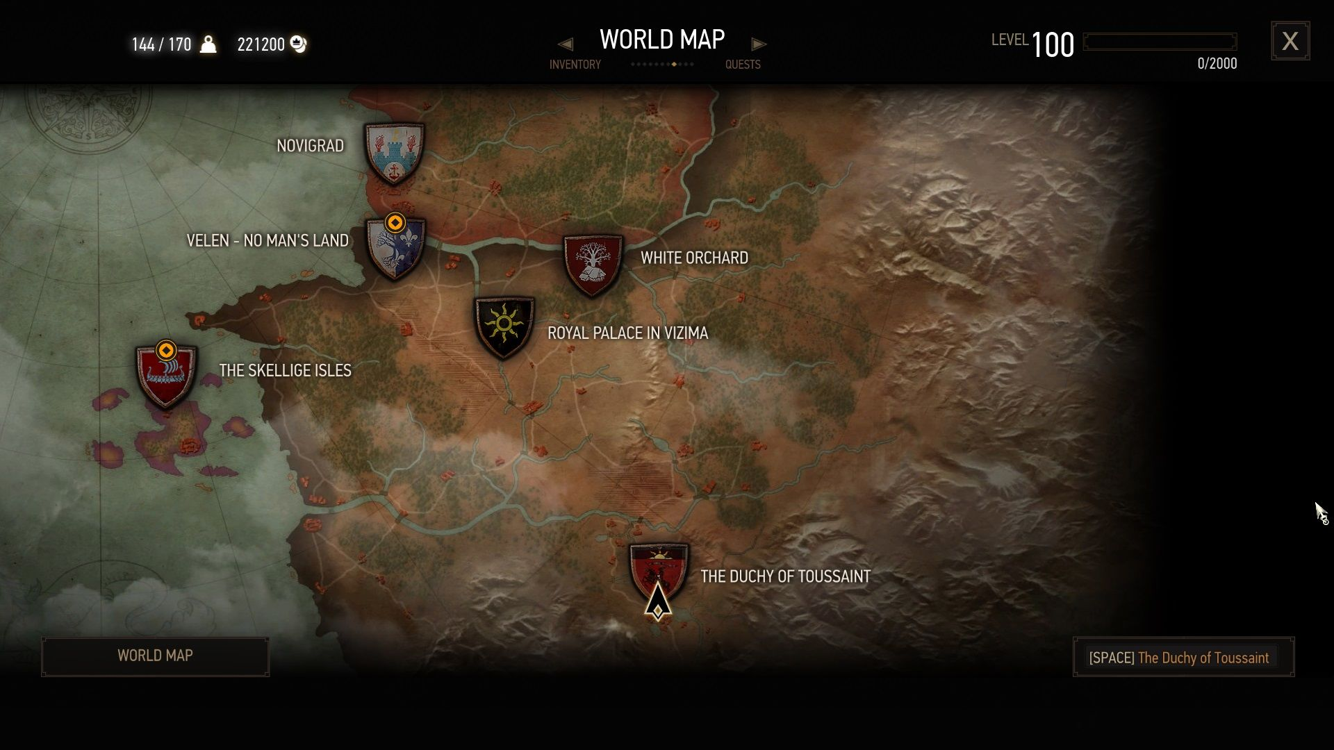 The witcher 3 wild hunt blood and wine screenshots for windows toussaint location on the world map deep in the nilfgaardian empire gumiabroncs Image collections