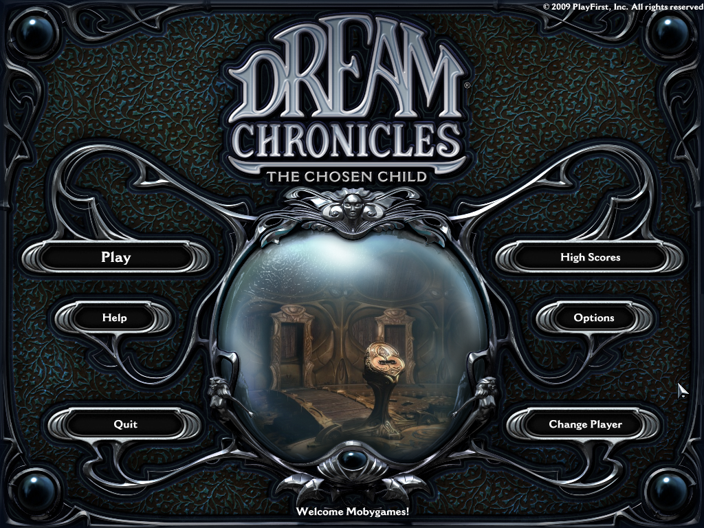 Dream Chronicles: The Chosen Child Windows Title screen