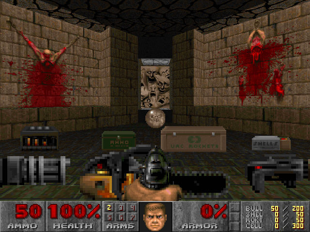 DOOM II Windows This is the full arsenal of Doom II... prepare for the ultimate battle!