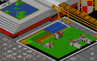 Populous: The Promised Lands DOS Révolution Française - My guys.