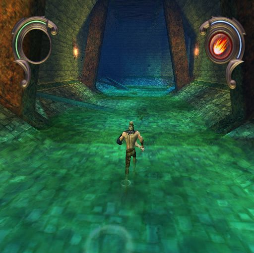 Warriors of Might and Magic PlayStation 2 Exploring corridors