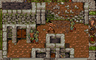 Conan: The Cimmerian DOS Larsha, the lizardmen city.