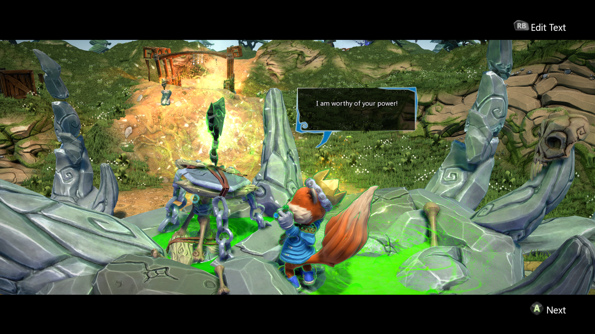 Project Spark: Conker Play & Create Bundle Xbox One I want that axe!