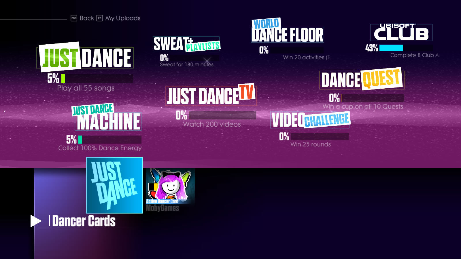 Just Dance 2017 Windows Overall game completion