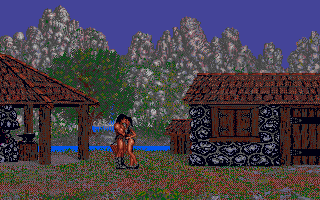 Conan: The Cimmerian DOS Conan and his girl