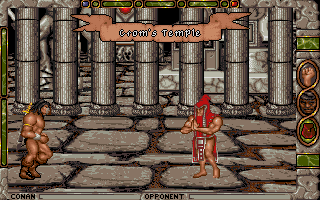 Conan: The Cimmerian DOS Crom´s Temple