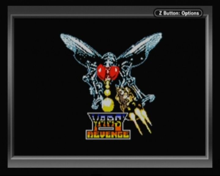 Yars' Revenge Game Boy Color Main Title
