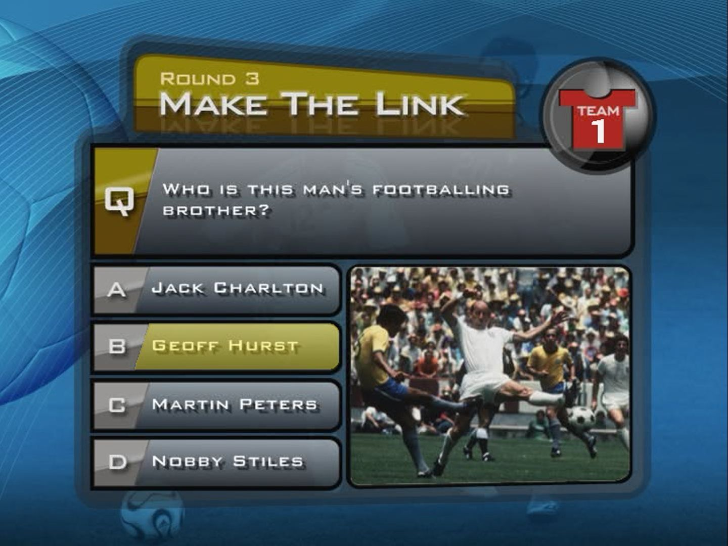 Terry Venables' GOAL! Screenshots for DVD Player - MobyGames