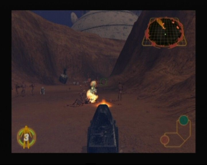 Star Wars: Rogue Squadron III - Rebel Strike GameCube Using imperial