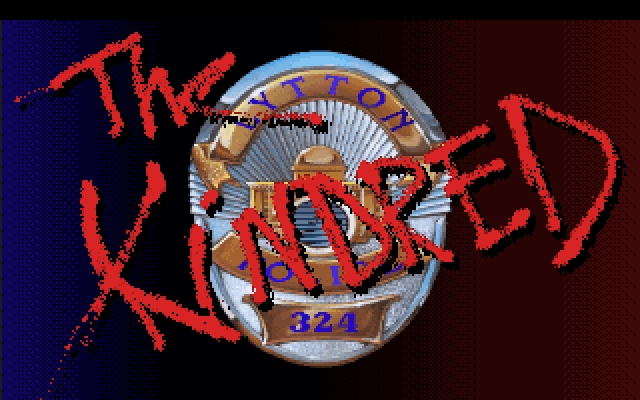 Police Quest 3: The Kindred DOS The Kindred Title