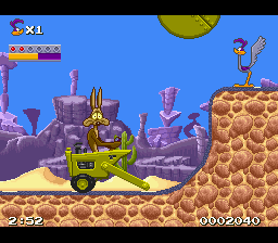 Last Retro Game You Played? What Retro Game Are You Currently Playing? - Page 2 87500-road-runner-s-death-valley-rally-snes-screenshot-before-s