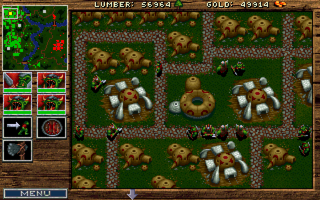 Warcraft Orcs Humans Screenshots For Dos Mobygames