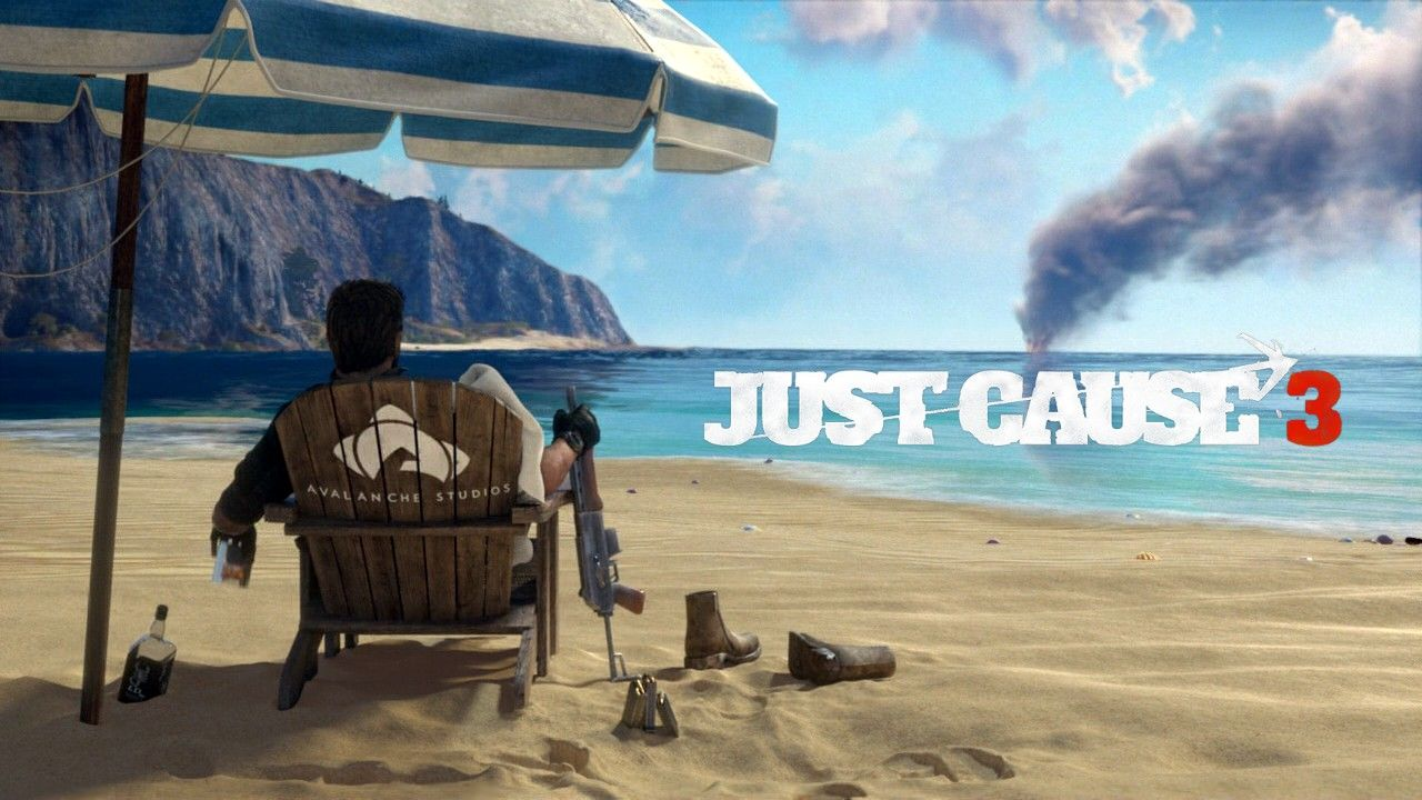 Just Cause 3 Windows Title screen