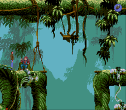 Flashback: The Quest for Identity SEGA CD Trust me, just jump!