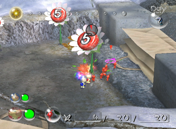 Pikmin 2 GameCube Retrieve for more Pikmin