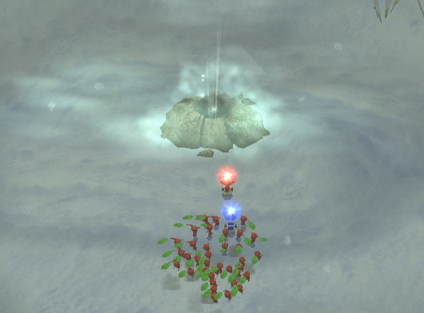 Pikmin 2 GameCube Cave Entrance