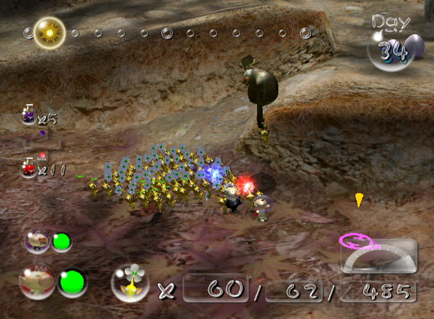 Pikmin 2 GameCube Pikmin Snatched