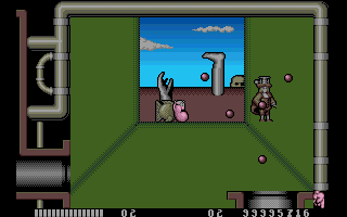 Monty Python's Flying Circus Amiga The first boss you come up against fires in all directions