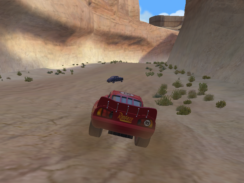 Disney•Pixar Cars: Mater-National Championship Windows On the sand