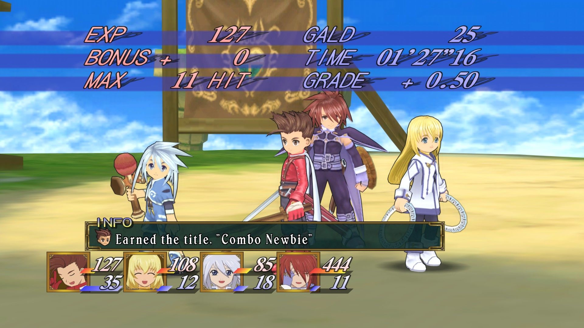 Tales of Symphonia Windows Oh! I got a new title