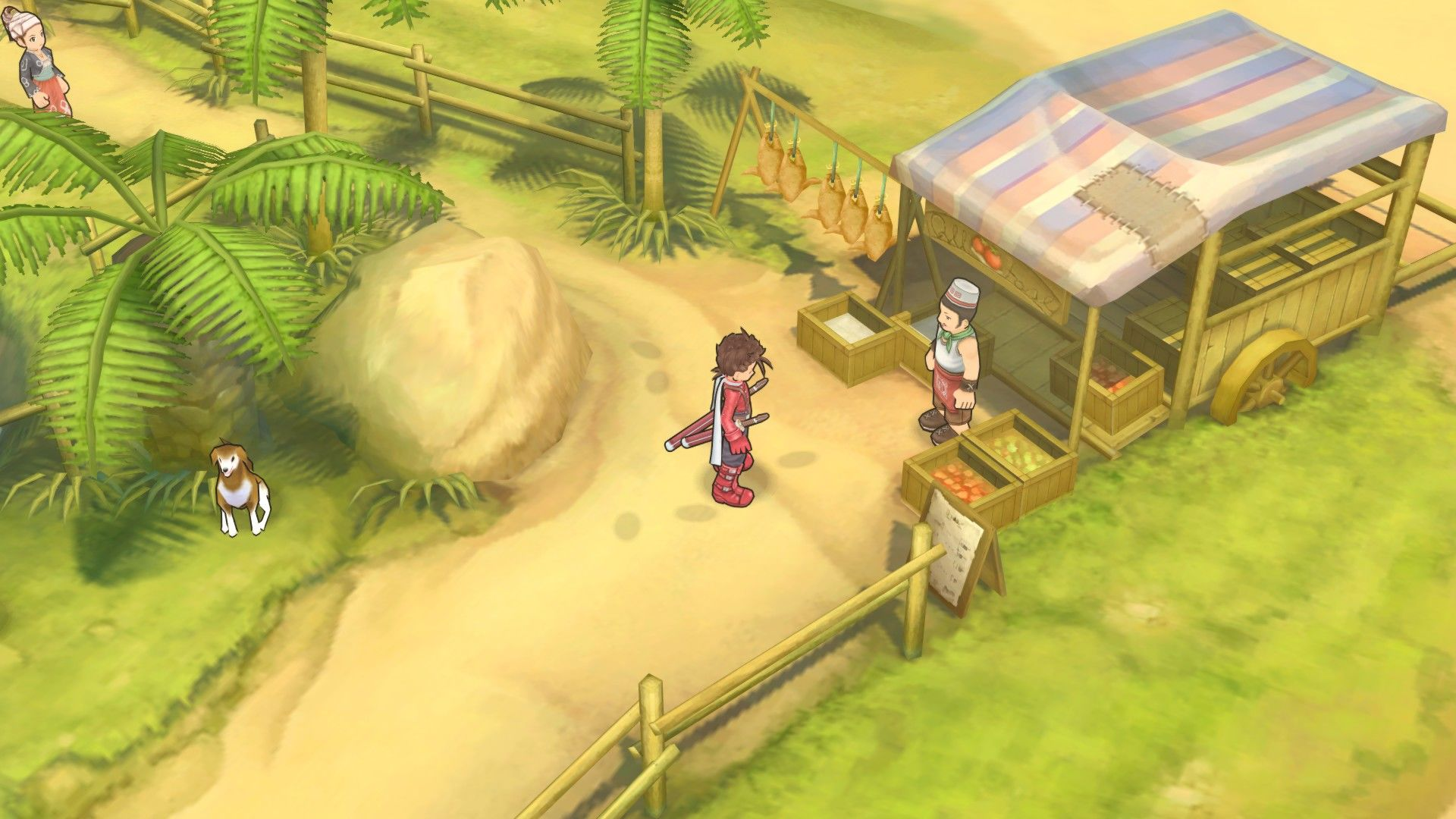 Tales of Symphonia Windows Just a normal store tent
