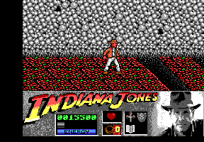 Indiana Jones and the Last Crusade: The Action Game DOS Level 4 - The start of the Grail temple