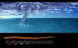 Loom DOS Storm could be add one letter (VGA)