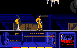The Running Man Atari ST First boss
