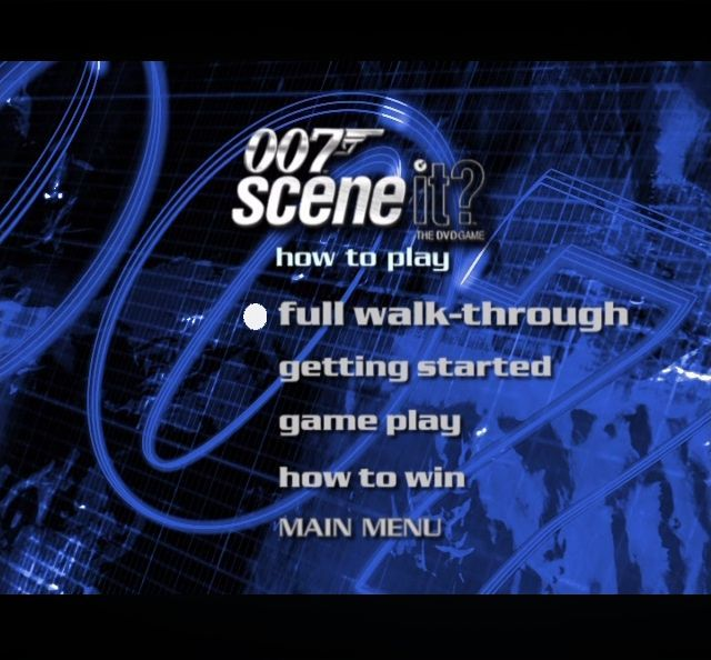 Scene It 007 Edition Screenshots For Dvd Player Mobygames