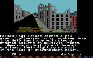 Red Storm Rising Commodore 64 The Warsaw Pact is on the move.