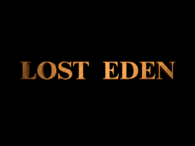 Lost Eden Windows Title screen