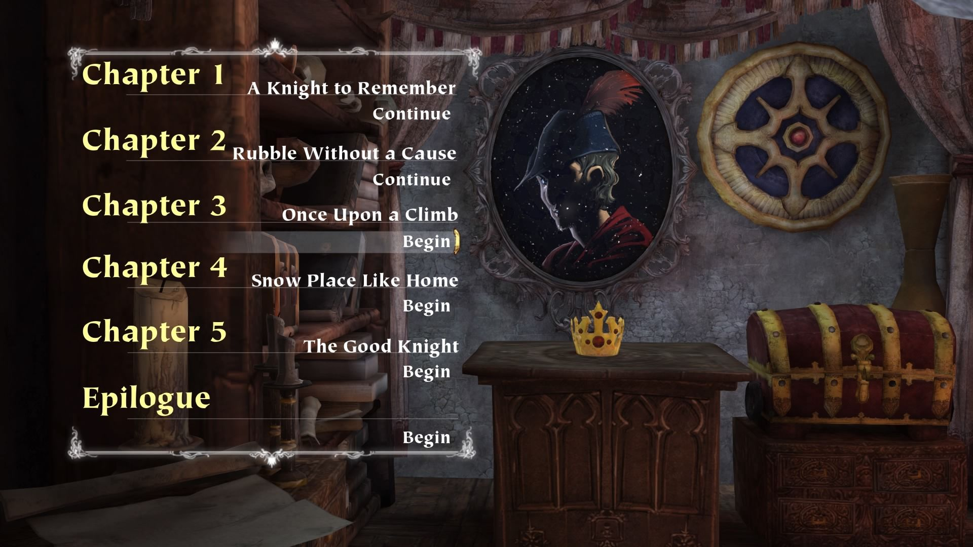 King's Quest: Chapter III - Once Upon a Climb PlayStation 4 Chapter 3 selected