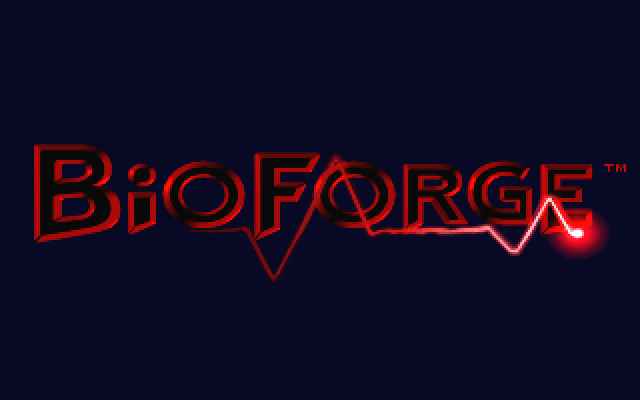 BioForge Windows Main title from the opening cinematic