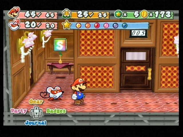 Mario and a party member aboard the Excess Express.  sc 1 st  MobyGames & Paper Mario: The Thousand-Year Door Screenshots for GameCube - MobyGames