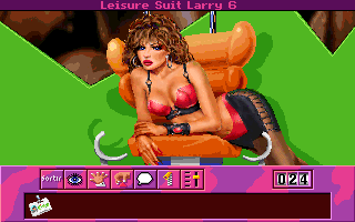 Leisure Suit Larry 6: Shape Up or Slip Out! DOS Thunderbird