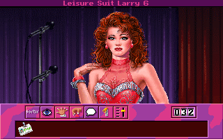 Leisure Suit Larry 6: Shape Up or Slip Out! DOS Burgundy
