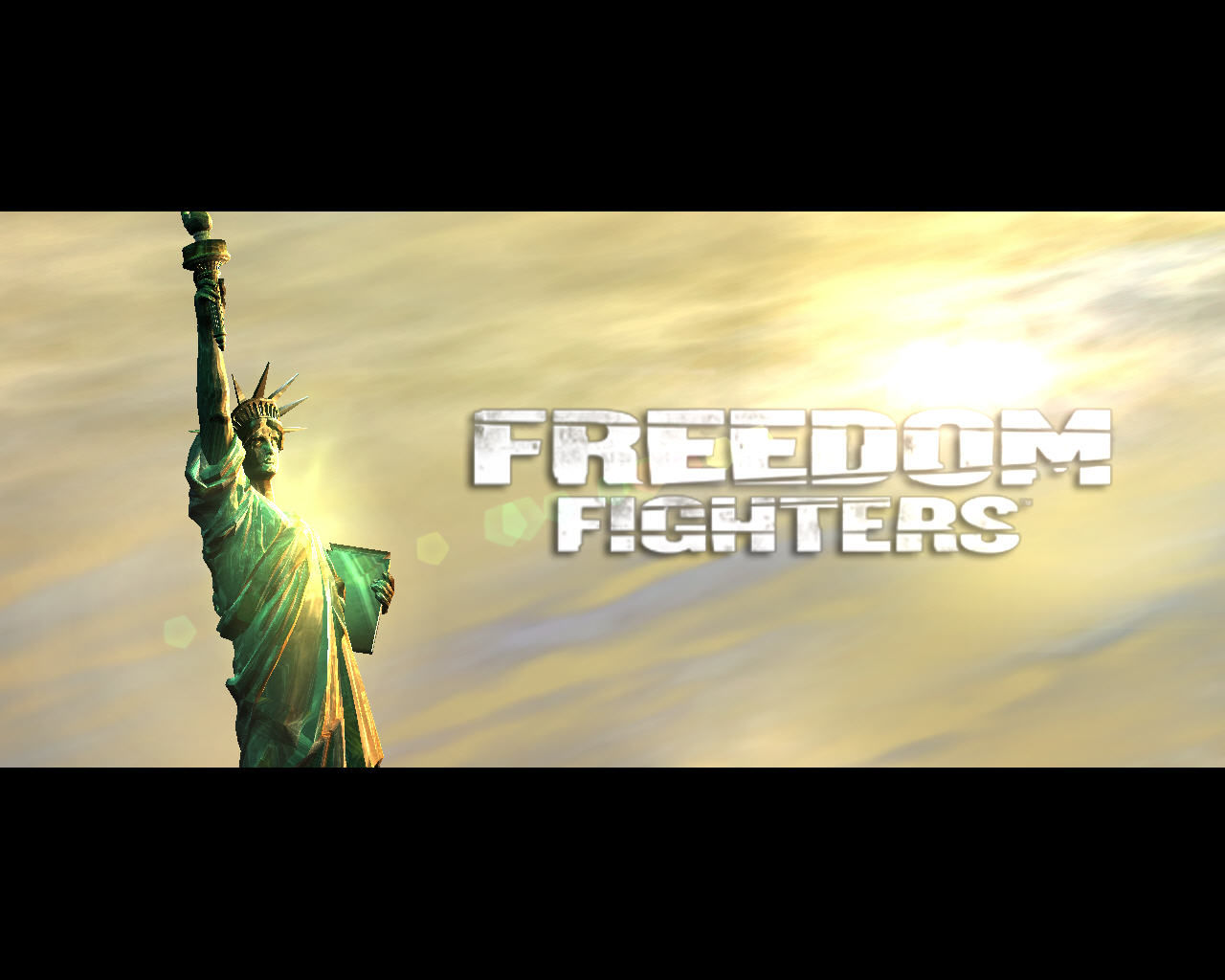 Freedom Fighters Windows Title from intro