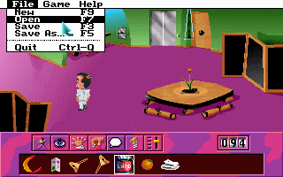 Leisure Suit Larry 6: Shape Up or Slip Out! DOS The pull down menus are back!