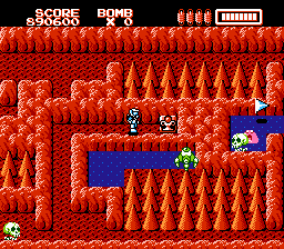 RoboWarrior NES One of two essential items for most levels: The chalice to stop the level from infinitely scrolling