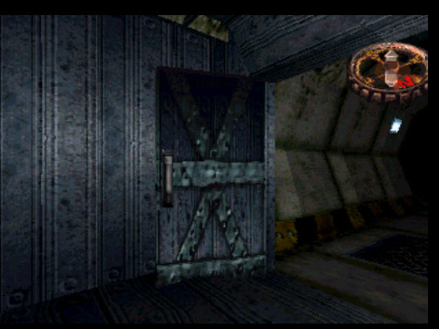 Hellnight PlayStation In this wooden room you can hide from the monster for a while