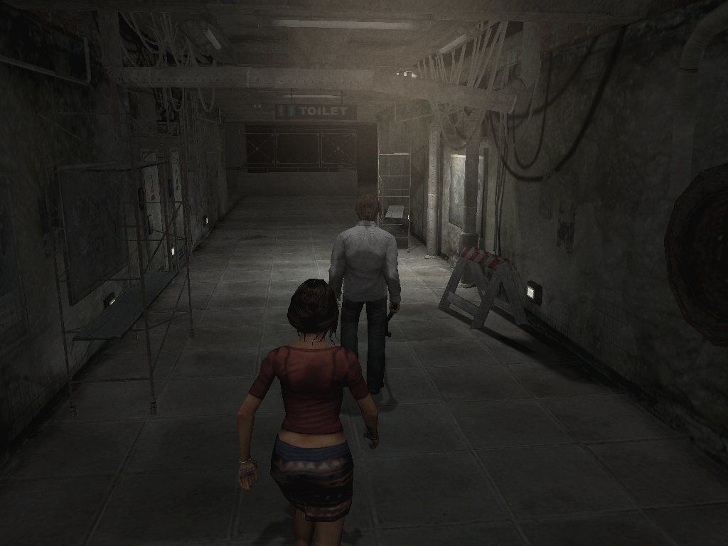 Silent Hill 4: The Room Windows Oh, yes! Silent Hill's NPC Escorting Service(TM) is back with full force!
