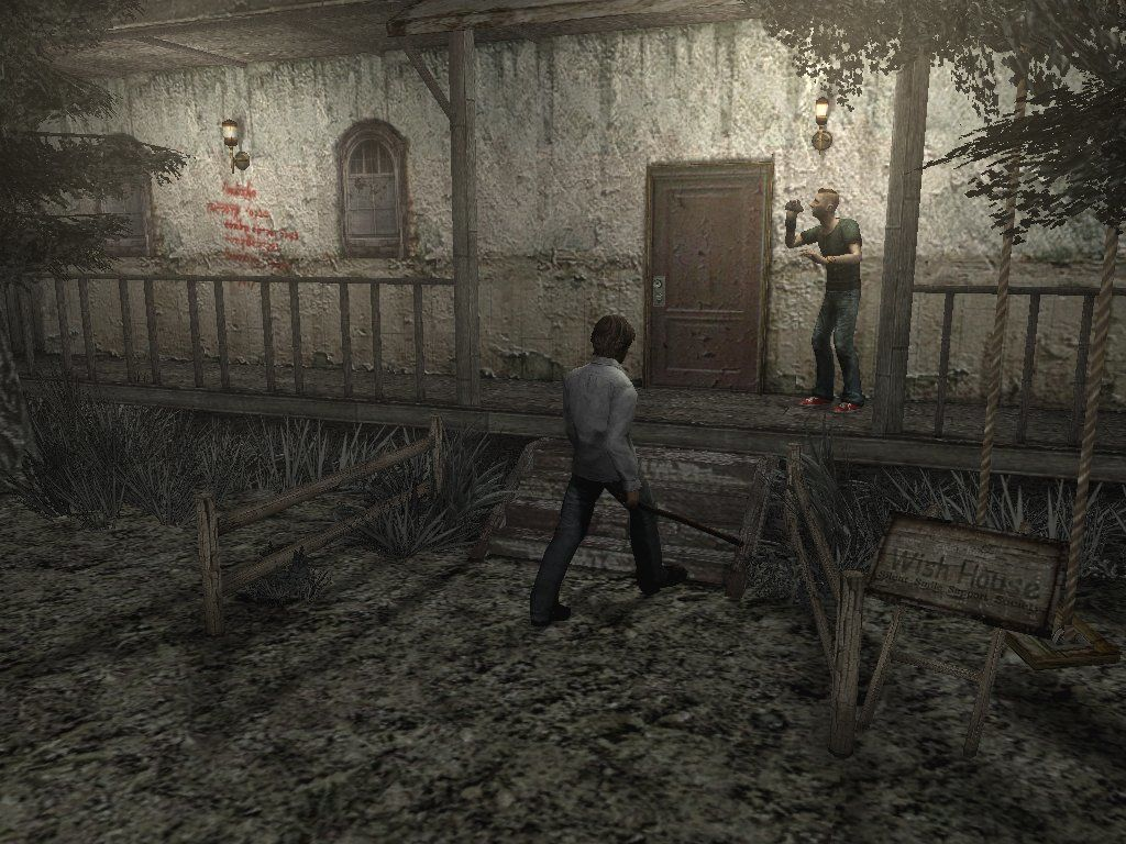 Silent Hill 4: The Room Windows The Wish House! Silent Hill's orphan caring house! And it doesn't look creepy or disturbing AT ALL!!! Am I right or am I right?