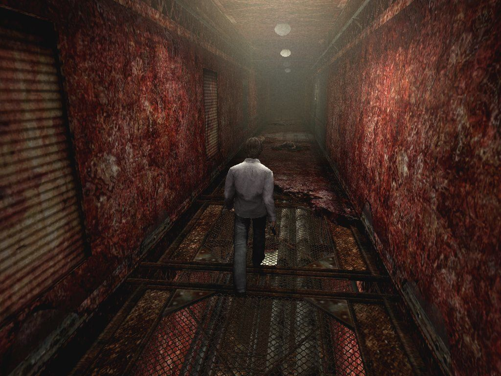 Silent Hill 4: The Room Windows What's with the tiles of this floor? That supper's gonna get a piece of my mind...