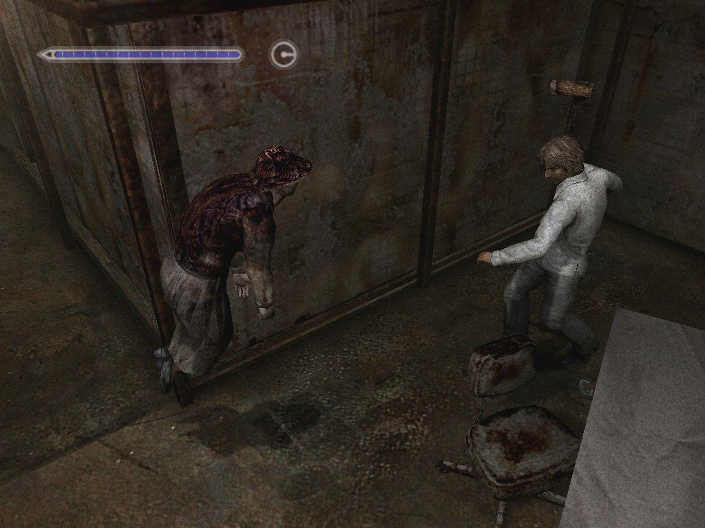 Silent Hill 4: The Room Windows Hum, mom? You might wanna check this out.... Granma is, like, floating...