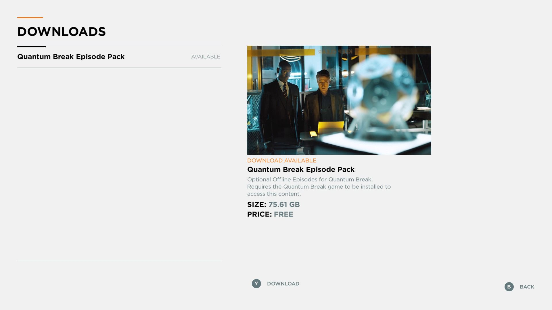 Quantum Break Screenshots for Xbox One - MobyGames