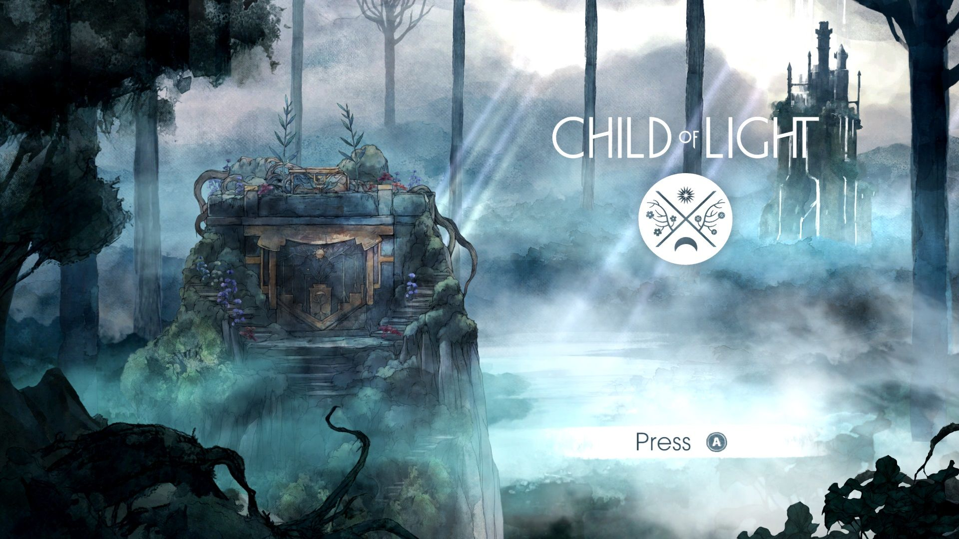 Beautiful Child Of Light Xbox One Title Screen