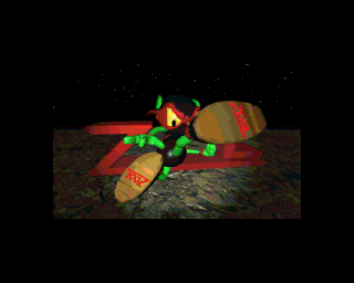 Zool Amiga CD32 End of introduction render video