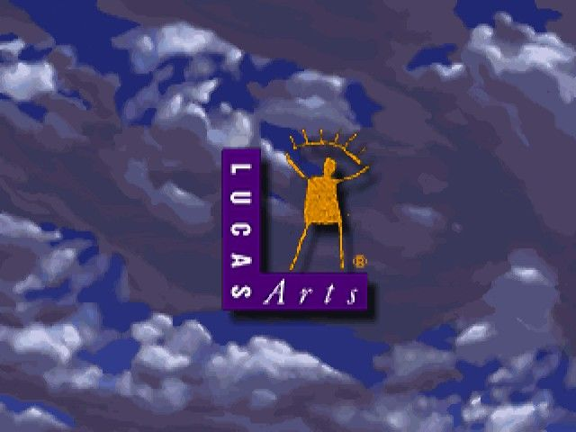 Full Throttle Windows LucasArts logo (note that Windows version uses 16-bit color mode)